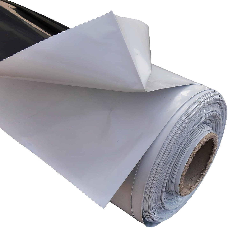 nero // bianco in diverse misure: larghezza: 2 m Materiale: polietilene 4 m telone per silo 3 m Resistente alle intemperie telone da giardino versatile. Telone di copertura resistente ai raggi UV