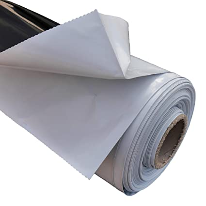 VERDELOOK Telo copritutto in PVC Robusto e Durevole in Rotoli Dimensioni 3x56 m
