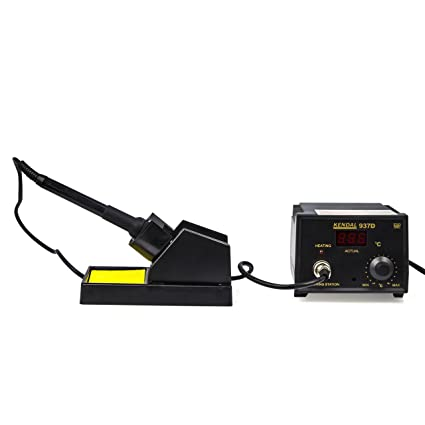 Soldering Iron Station with extra heating element u00265 tips 937D - - Amazon.com  sc 1 st  Amazon.com : soldering iron for automotive wiring - yogabreezes.com