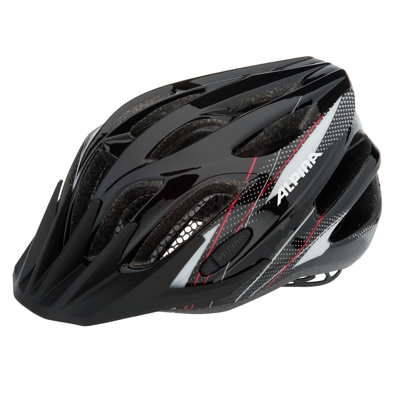 50-57 cm Ventura Shark Casco de ciclismo para ni/ños color plateado