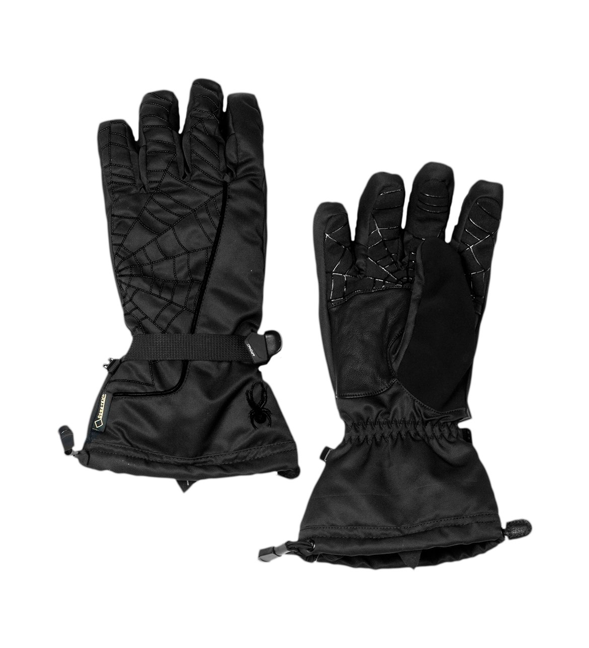Spyder Men's Overweb Gore-Tex Glove, Black/Black, X-Small