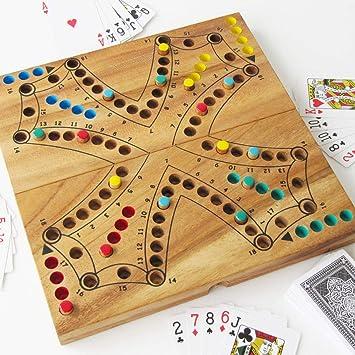 Juego de toc de 4 colores o tock versión de 2 a 4 jugadores, 26 x