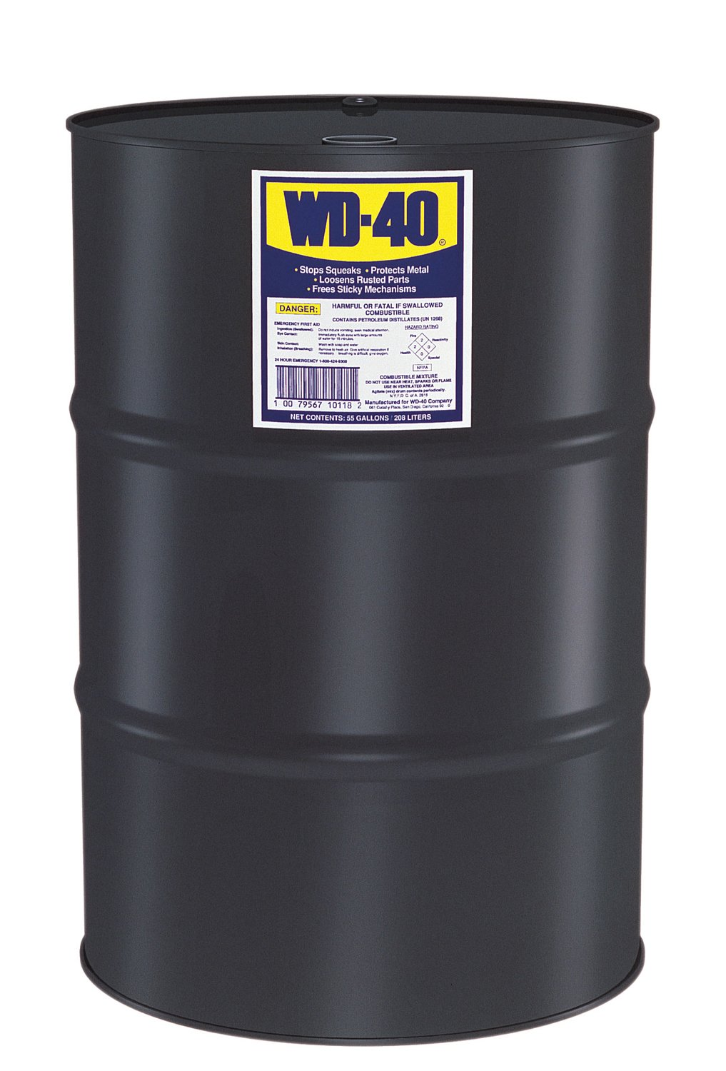 WD-40 Multi-Use Product, 55 - Gallon Drum