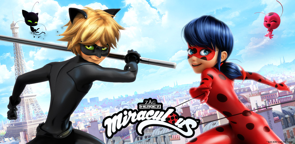 Amazoncom Miraculous Ladybug Cat Noir Run Jump Save Paris