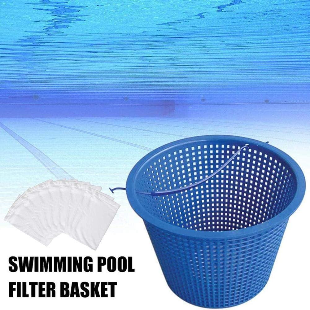 Poolskimmerkorb Mit Optionalen Socken Bulary Poolfilterkorb Zur Reinigung des Pools Poolskimmer-Socken Poolkorb