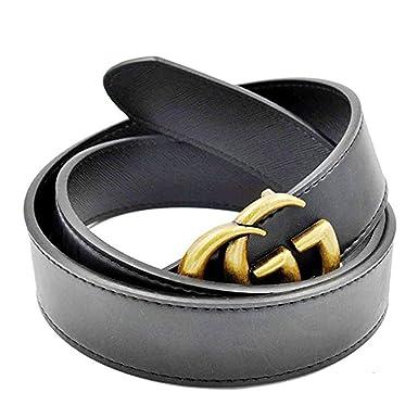 16790ca033f Luxury Designer GG Slim Belt for Women  3.2CM width  (Black1
