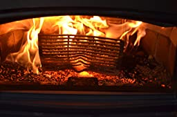 Amazon.com: Wood Pellet Basket Heater, Alternative Heating ...
