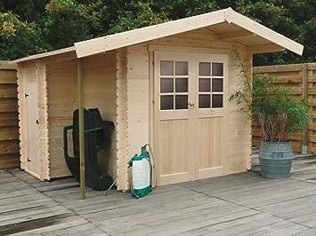 Betula S8351CRO - Caseta de jardín (28 mm, superficie de 4,60 m2, tejado de sillín): Amazon.es: Bricolaje y herramientas