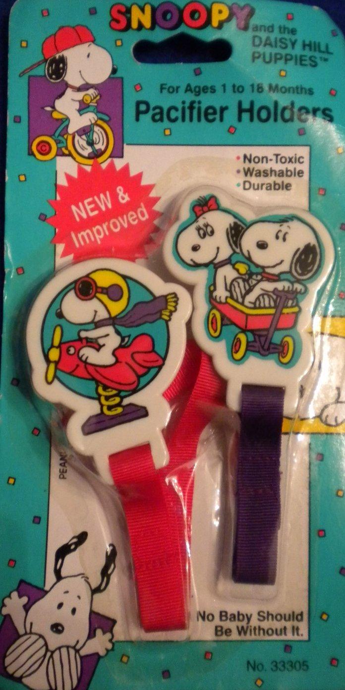 新作 Peanuts Baby of Snoopy Daisy & Daisy Hill Puppies Set Snoopy of 2 Pacifier Holders - FLYING ACE by Baby Snoopy B007X2OEQ4, アマギシ:ef2c20c5 --- a0267596.xsph.ru