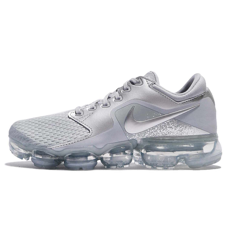 f390b71fa7 Amazon.com | Nike Women's WMNS Air Vapormax, Wolf Grey/Metallic Silver |  Road Running