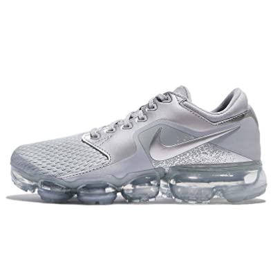 lowest price 8e2f0 ef02f Amazon.com   Nike Women s WMNS Air Vapormax, Wolf Grey Metallic Silver, 11  M US   Road Running