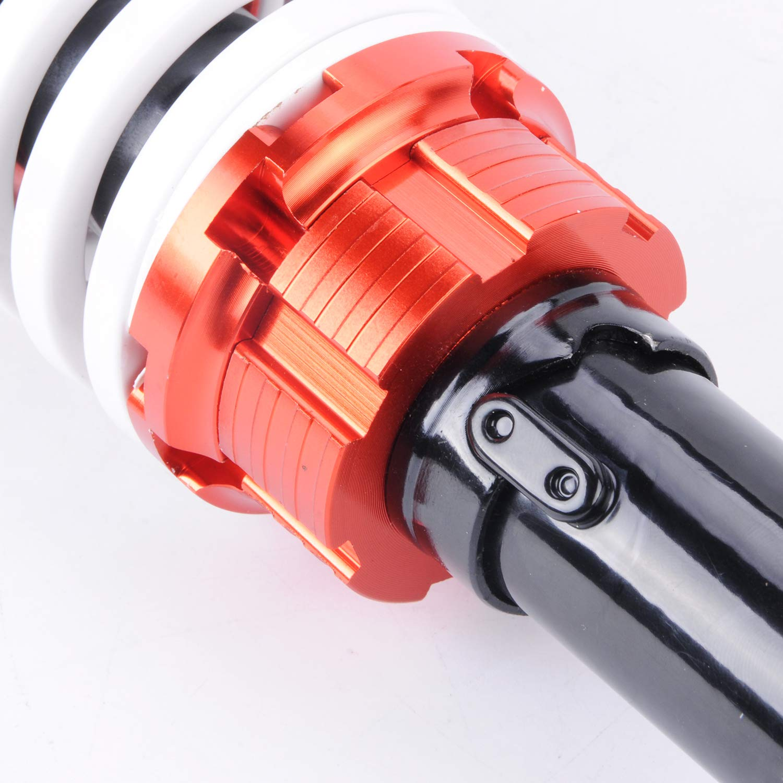Wotefusi 12.5 320mm Paire amortisseurs Remplacement Suspension Double pour Moto