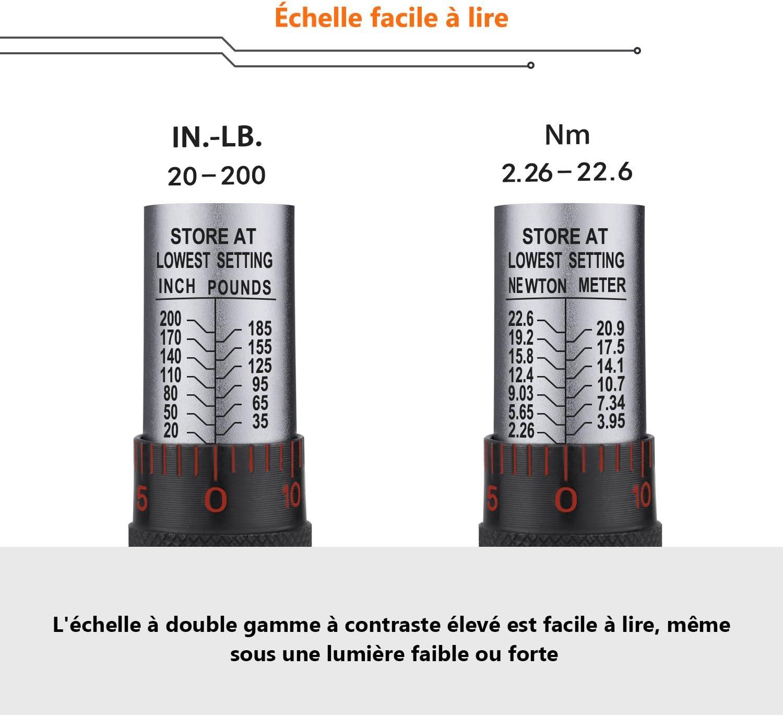 Clé dynamométrique 6-1.500 Nm avec numéro de série et certificat