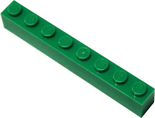 LEGO 3008 Dark Stone Gray 1x8 BRICK 1 x 8 Building Blocks 4 Pcs