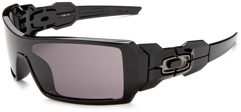 aa00b66928 good oakley mens oil rig update 03 460 sunglasses black 1 oakley amazon  clothing 4643b 11fef