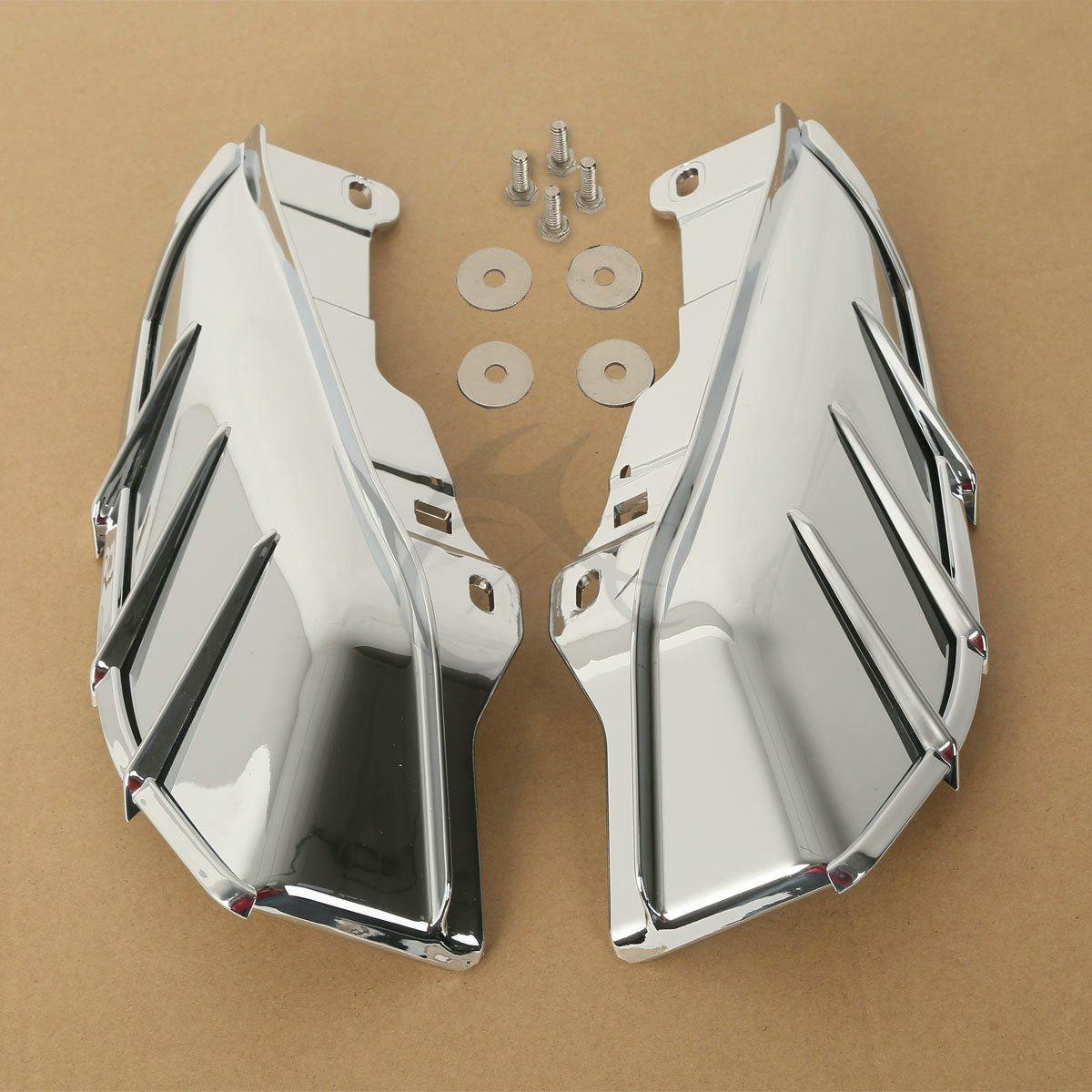 TCMT Chrome Mid-Frame Air Deflector For Harley Davidson Touring /& Trike models 09-17