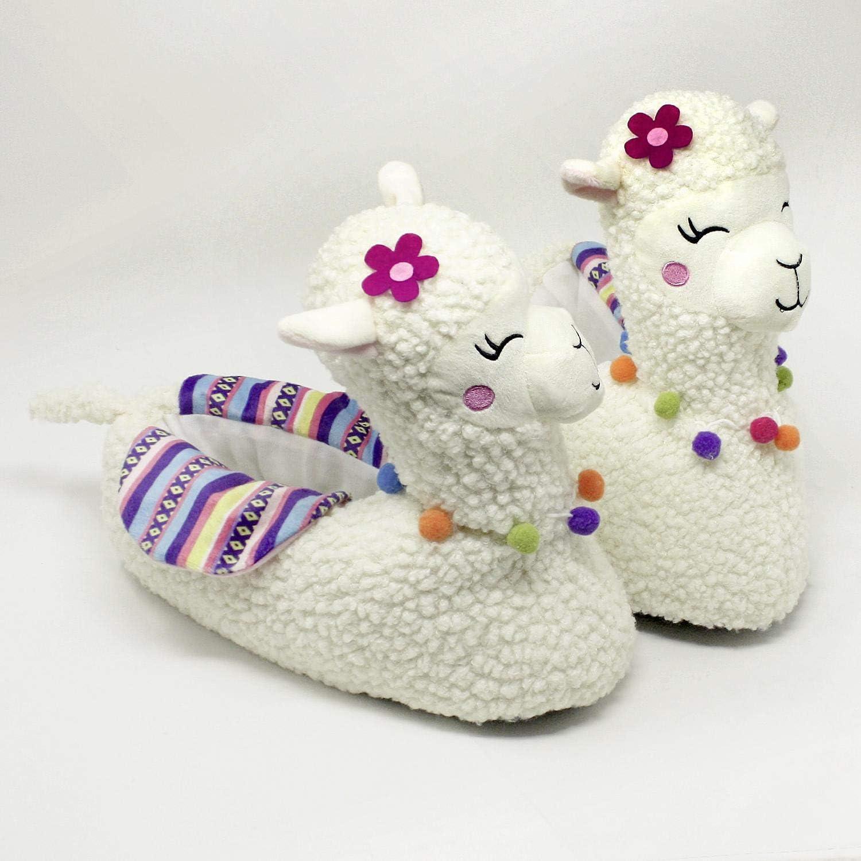 Zapatillas de casa para Mujer Lana Multicolor Se Recomienda Pedir una Talla m/ás