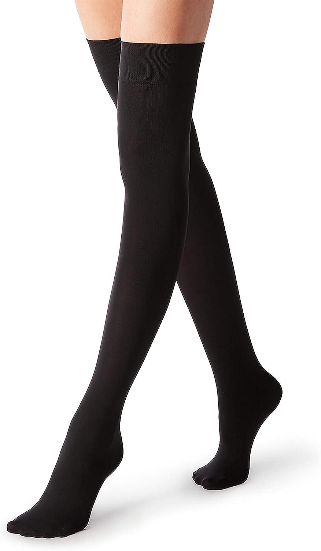 O//S Women FUN FAUX Sneaker Boots FASHION KNEE HIGH LACE UP SOCKS Stockings