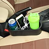 ZATOOTO Car Cup Cell Phone Holder Drinks Holder Portable Multifunction Glove Box Car Accessories