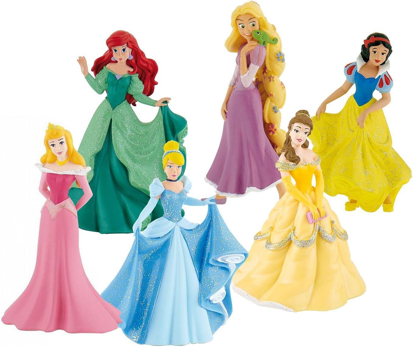 Disney Princesas Bumper Pack, Set con Figuras (Bullyland Y13362): Amazon.es: Juguetes y juegos