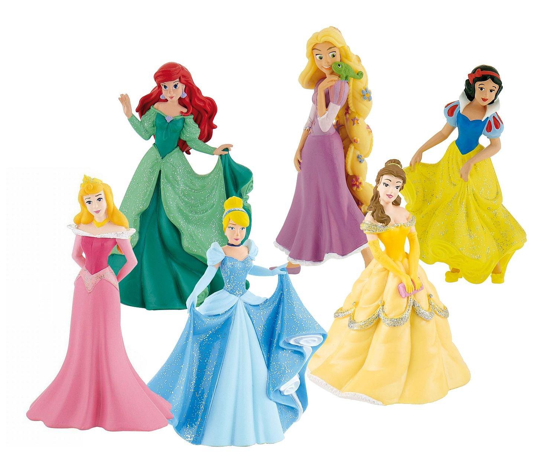 coffret 6 princesses disney de bully. Black Bedroom Furniture Sets. Home Design Ideas