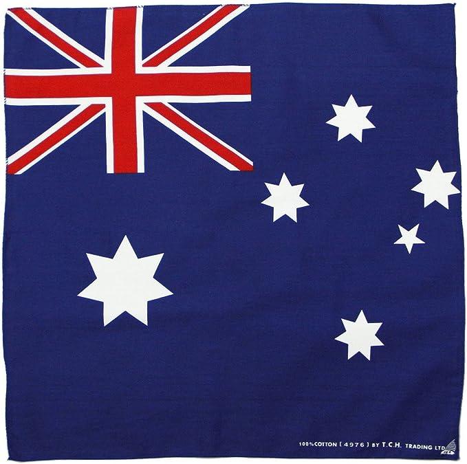 Pañuelo con bandera de Australia, bandana: Amazon.es: Deportes y aire libre