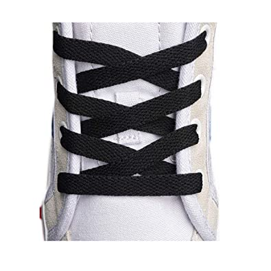 bf98df88663a2e Flat Shoelaces 5 16 quot  (4 Pair) - For sneakers and converse shoelaces