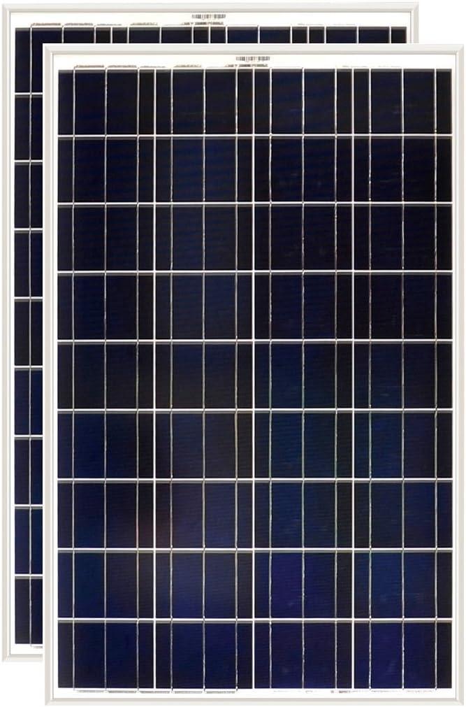 Grape Solar 100W Polycrystalline Solar Panel 2 Pack