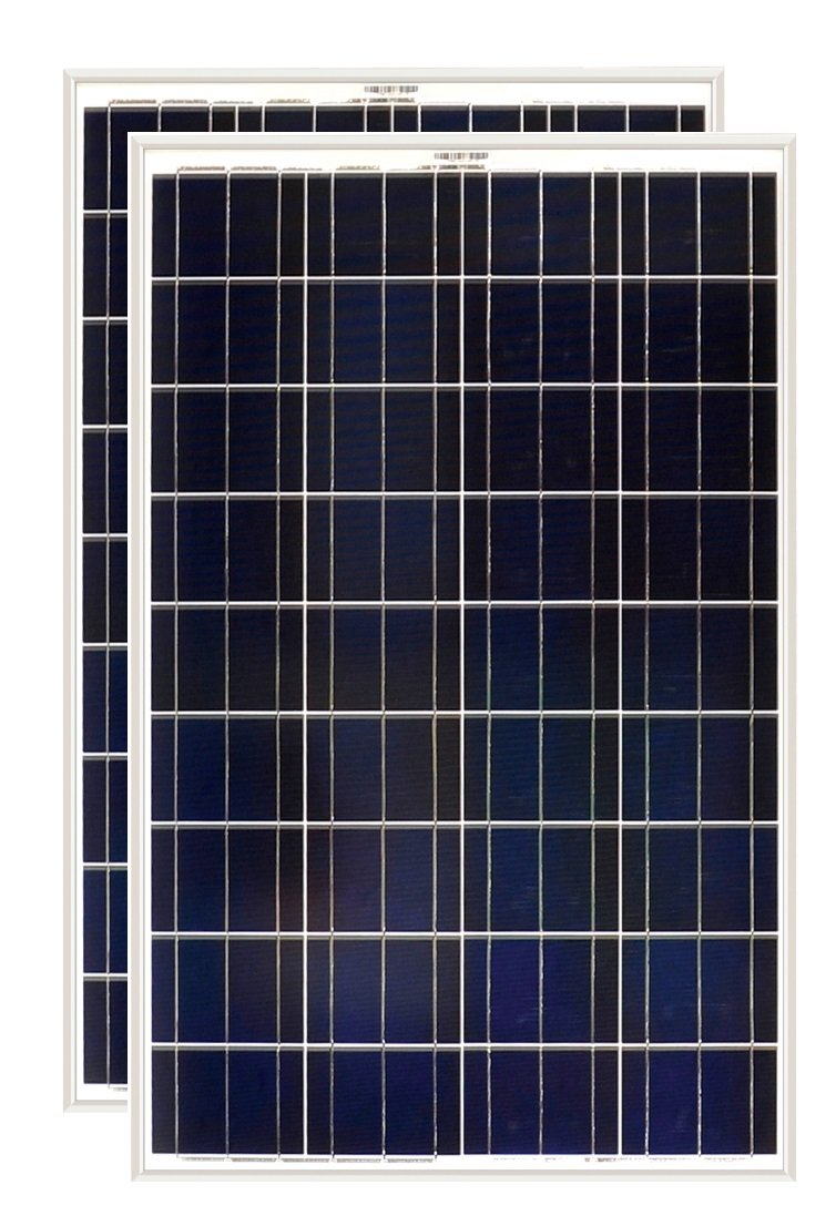 Grape Solar 100W Polycrystalline Solar Panel (2 Pack)