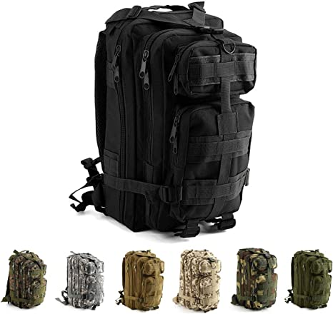 30L Military Tactical Backpack Rucksack Camping Hiking Trekking Bag Outdoor UK