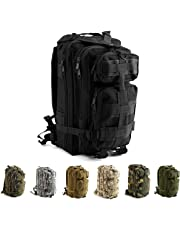 Risefit Military Assault Tactical Backpack Water Resistant Military Army Rucksack, 30L / 45L Trekking Rucksack for Outdoor Camping, Hiking, Trekking, Fishing and Hunting Army Backpack