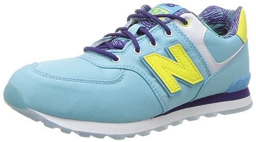 New Balance - Zapatillas para niña turquesa Turquesa, color turquesa, talla 36: Amazon.es: Zapatos y complementos