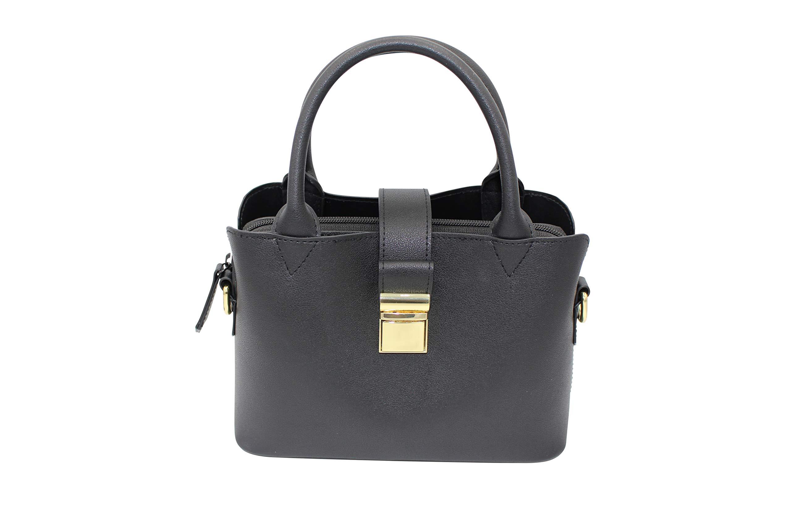 Snoop Proof Smell Proof Women's Handbag -Black