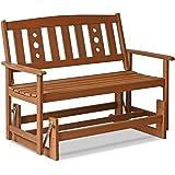 Amazon Com 4 Cedar Porch Glider W Stained Finish Amish