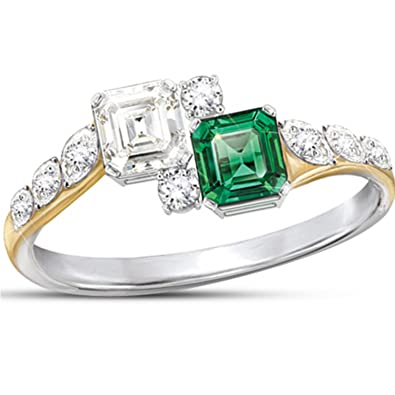 Amazoncom Diamonesk Ring Jacqueline KennedyInspired Ring by The