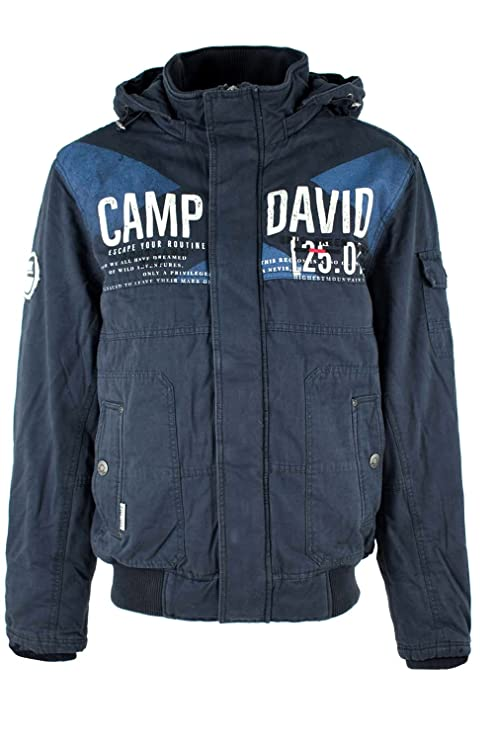 neue sorten populäres Design spätester Verkauf Camp David Winterjacke mit Kapuze