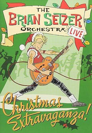 Brian Setzer Christmas.Amazon Com Brian Setzer Christmas Extravaganza The Brian