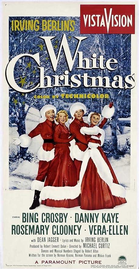 White Christmas 1954.Amazon Com White Christmas Poster Movie 1954 Style A 20 X