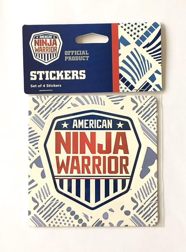 Amazon.com: American Ninja - Pegatinas de guerrero (juego de ...