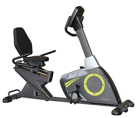 TrainHard Enjoyfit F180 - Bicicleta estática reclinada: Amazon.es ...