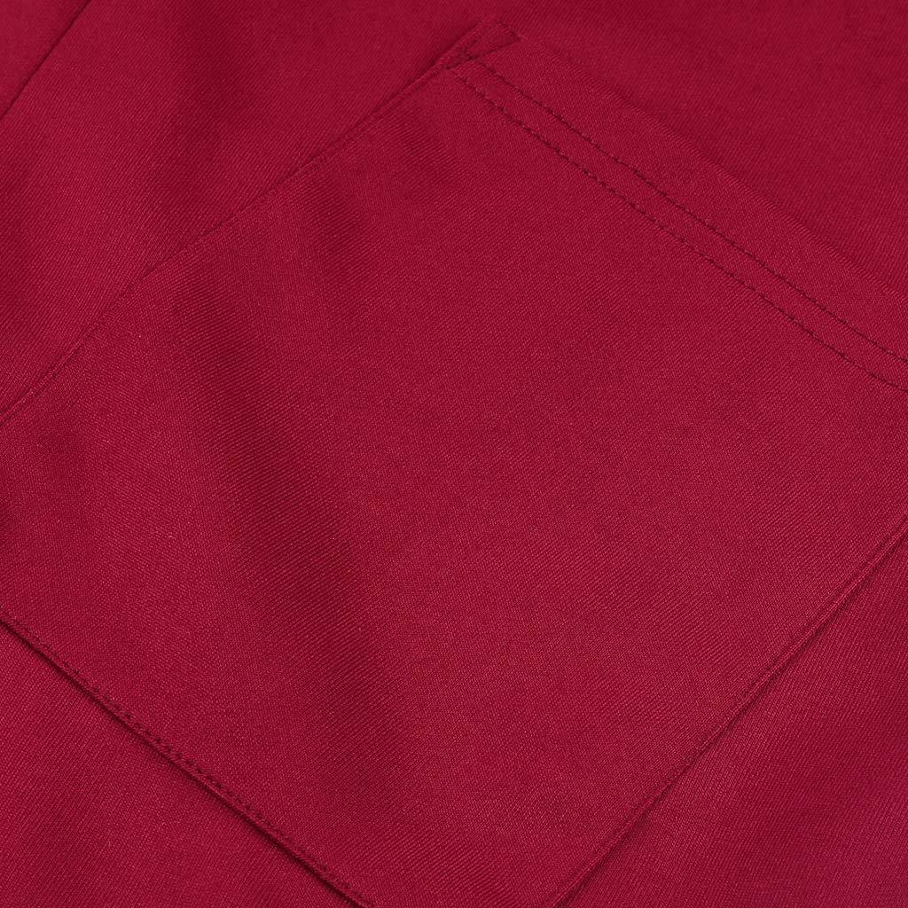 Cardigo Women Fashion Pocket Round Neck Long Sleeve Loose Long Dress
