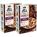 2 Count Quaker 28 oz Oats, Honey, Raisins and Almonds Simply Granola