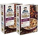2 Count Quaker 28 oz Oats, Honey, Raisins and Almonds Simply Granola