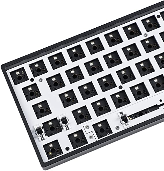 Gk64 Gk64x Rgb Hot Swap Programmable Pcb Board Cherry Computers Accessories