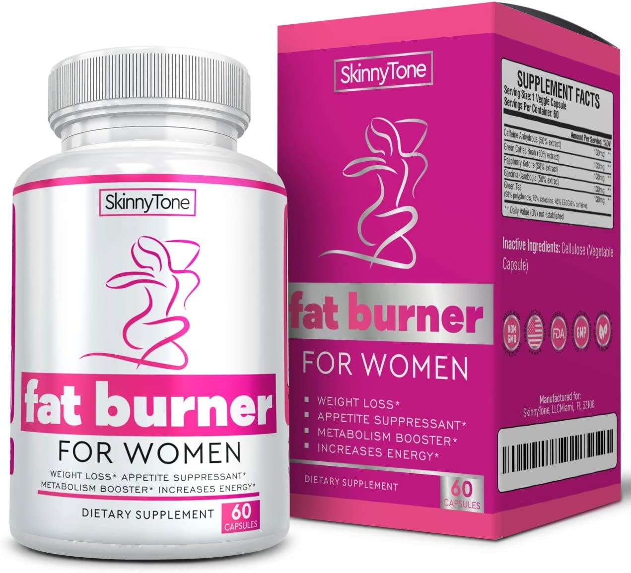 Thermogenic Fat Burners for Women – Best Keto Diet Weight Loss Pills – Appetite Suppressant- Burns Fat Fast – Metabolism Energy Booster