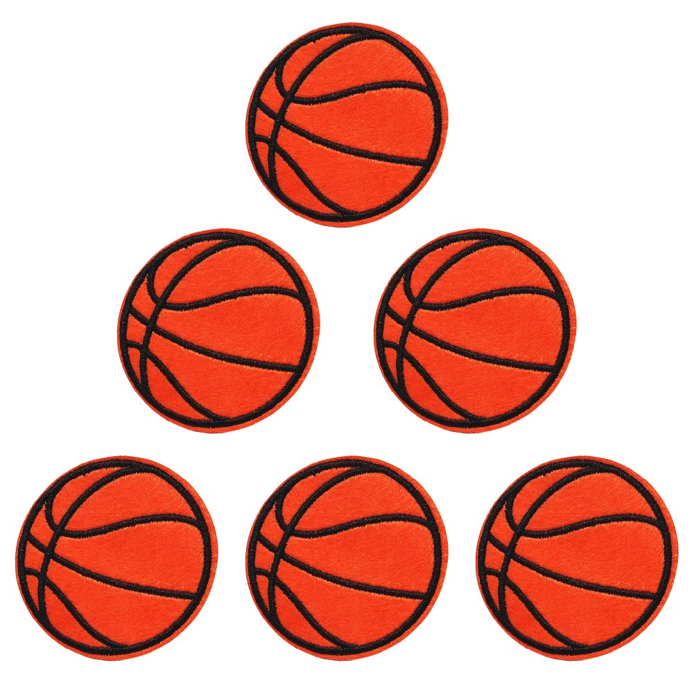 XUNHUI Parches bordados de baloncesto para ropa, planchar sobre ...