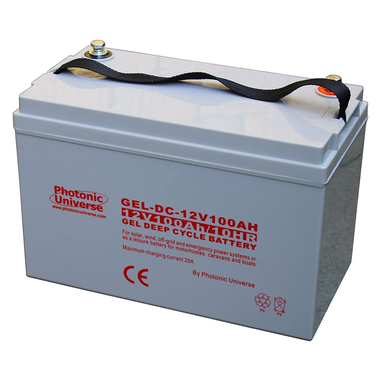 100Ah 12V nic Universe Gel deep cycle battery for Amazon