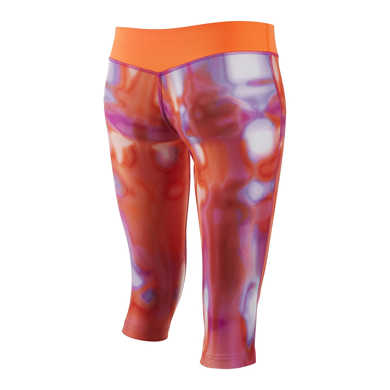 5ec4a68c103ee0 Amazon.com: Nike Big Girls' (7-16) Dri-Fit Legend 2.0 All Over Print Capris-Pink/Orange-Large:  Sports & Outdoors