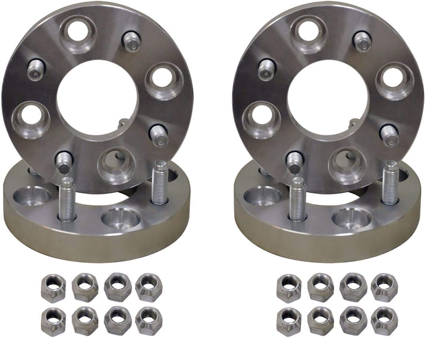 4 Adapters SuperATV 1.5 Aluminum Wheel Spacer Adapter for Yamaha 4//110 to 4//156 Full Set