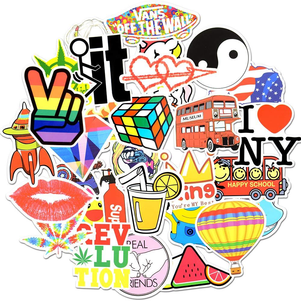 Stickers Calcos 30 un. Surtidos Origen U.S.A. (7RWY7H2R)